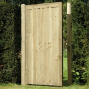 Elite Feather Edge Gate<br>Green - 175cm x 90cm